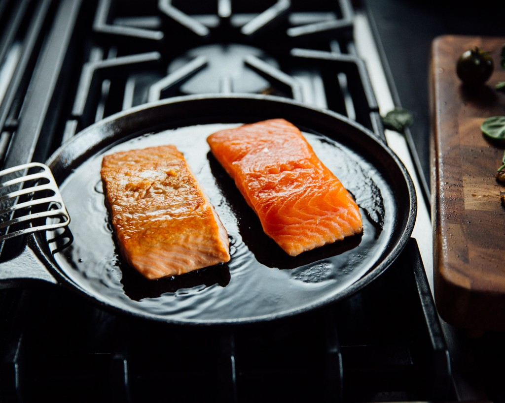 Premier Meat Company Salmon Filet Raw Sustainable Fresh NEver Frozen Delivery