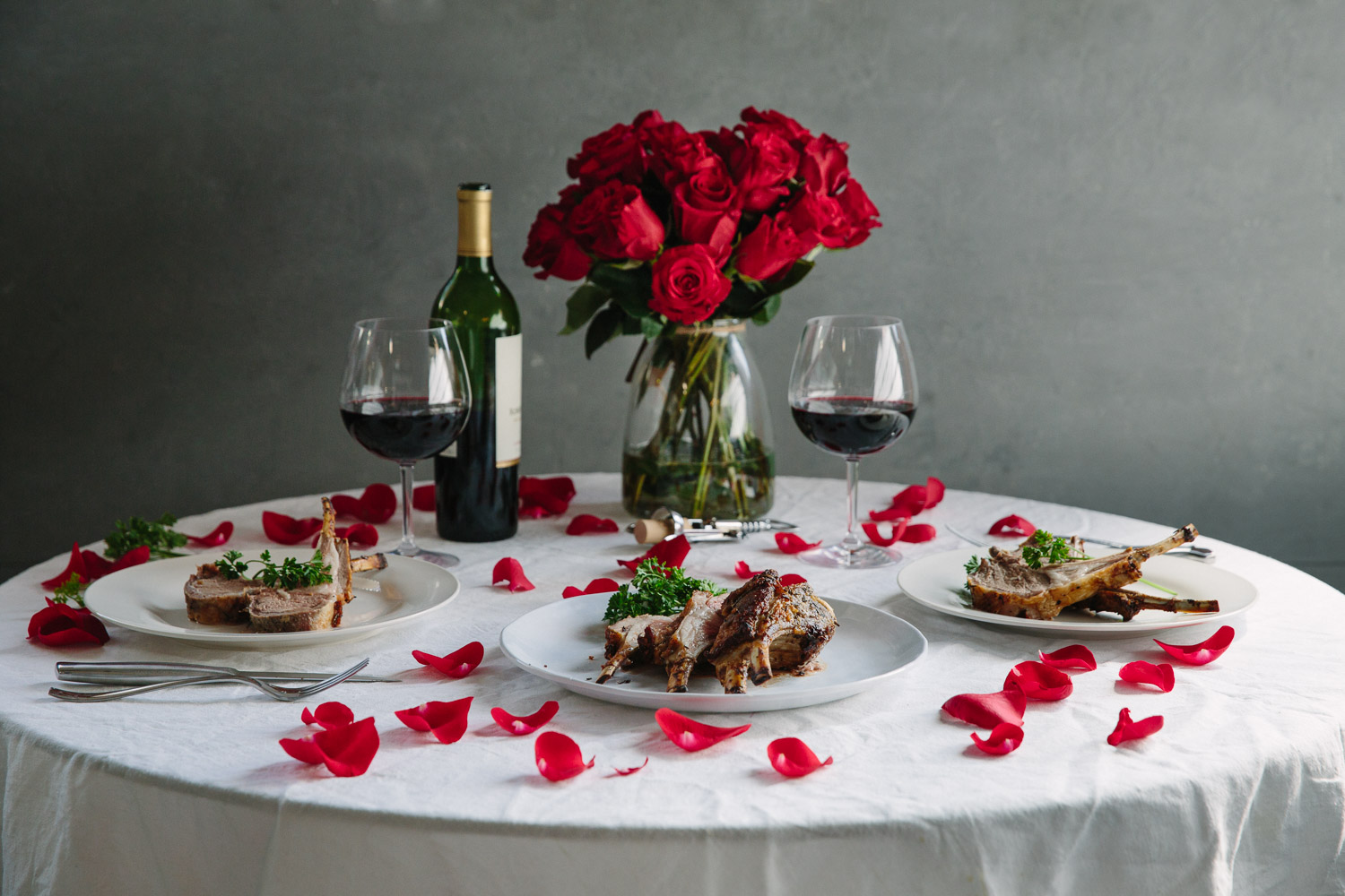 A valentine 39 s dinner for two premier meat company for Valentine s day meals to cook together