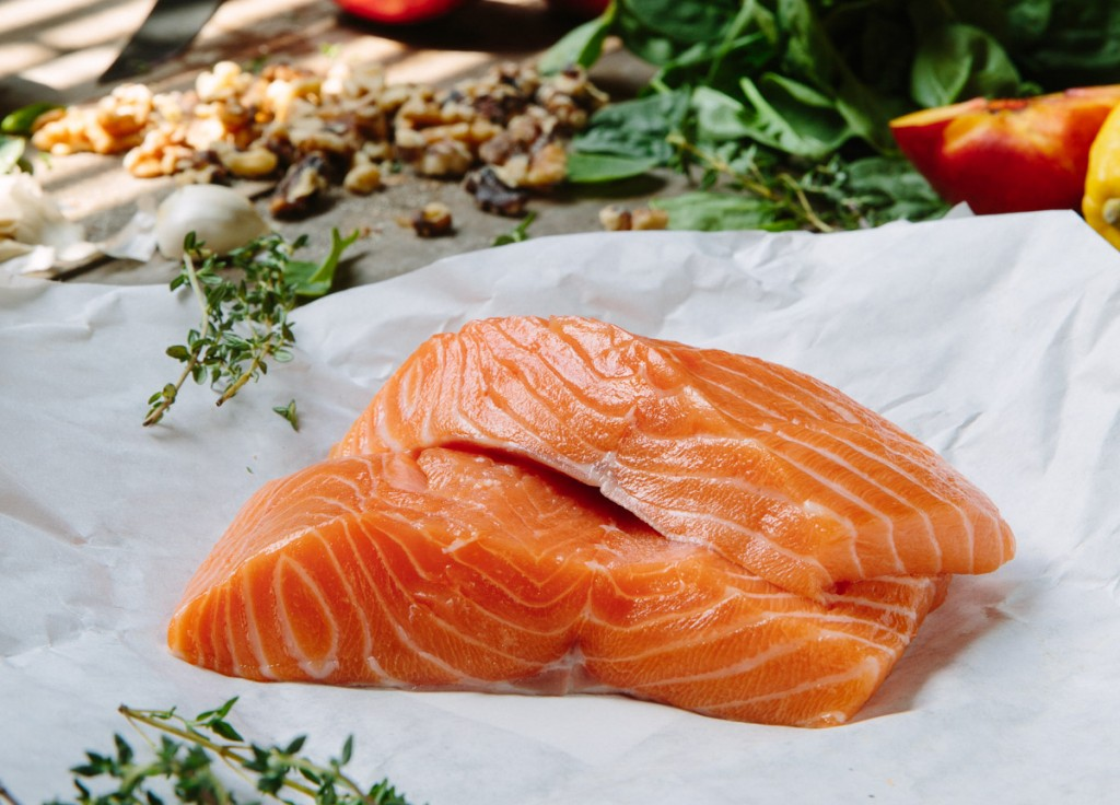 Our wild alaskan salmon is shipped fresh and fished straight from the source.