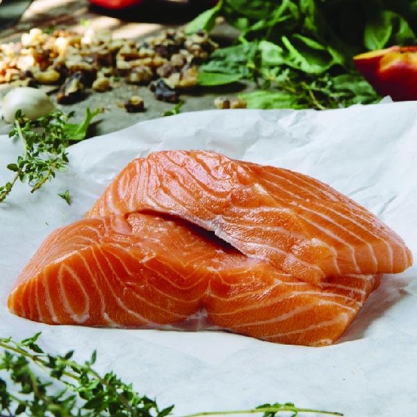 2 (8oz) Scottish Salmon Premium Block Cut -1145