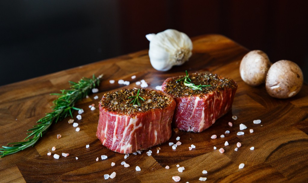 premier meat company raw filet mignon sustainable grass fed