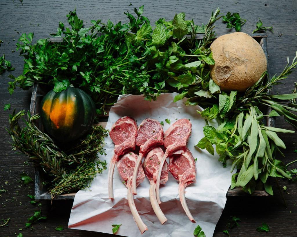 Premier Meat Company Lamb Lollipop Chop Raw Fresh Never Frozen Sustainable Humane Meat Protein
