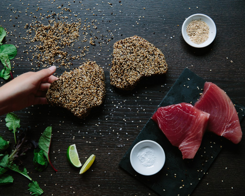 Premier Meat Company Fresh Never Frozen Tuna Filet High Quality Protein Delivery Sustainable Seafood No antibiotics Online order