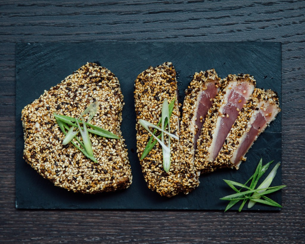 Premier Meat Company Sesame Seared Ahi Tuna Recipe Fresh Never Frozen Protein Delivery Online Order Sustainable Seafood High Quality
