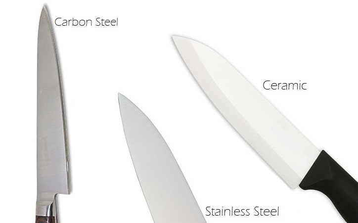 Premier Meat Company different knife materials carbon steel stainless steel ceramic comparison which is best