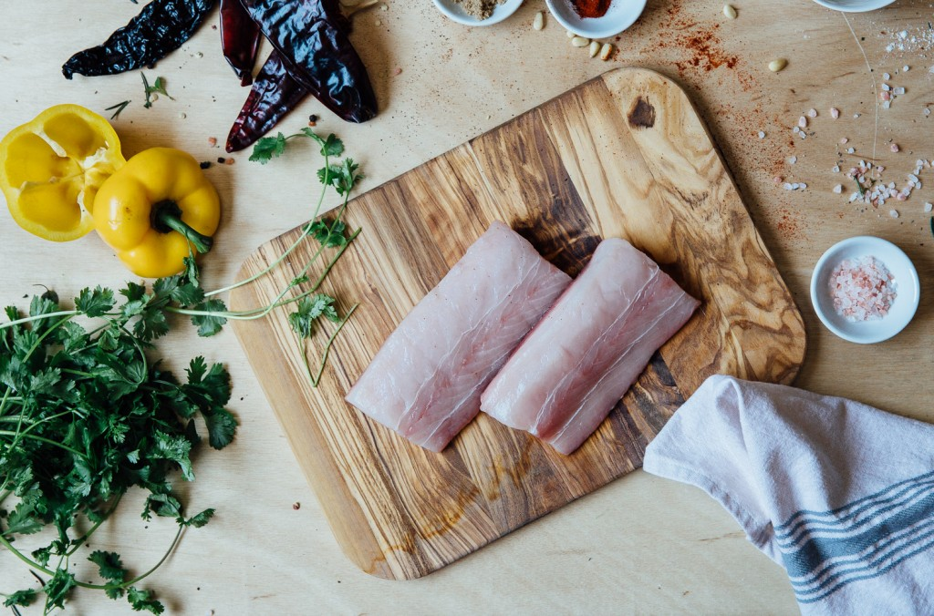 All seafood at premier meat company is sustainably sourced; it is line caught in the wild by pro fishermen