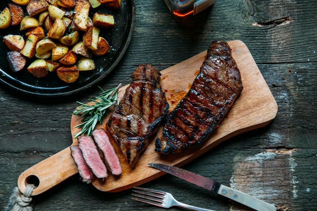 dry aged beef steaks strip loin premier meat company